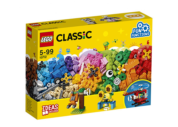 Palikat ja hammasrattaat LEGO® Classic