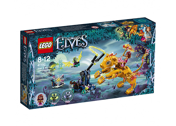 Azari ja tulileijonan kiinniotto LEGO Elves