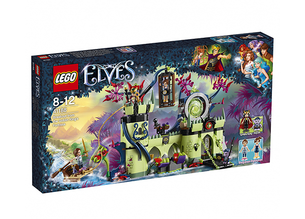 Põgenemine Goblinite kuninga kindlusest Lego Elves