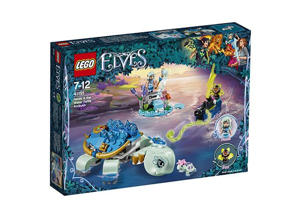 Naida ja vesikilpikonnaväijytys LEGO Elves