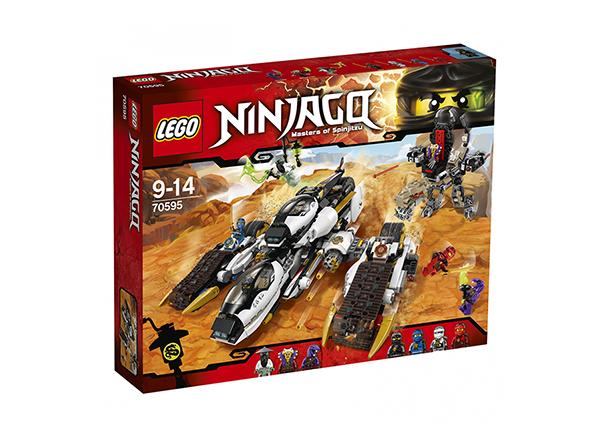 Внедорожник с суперсистемой маскировки Lego Ninjago
