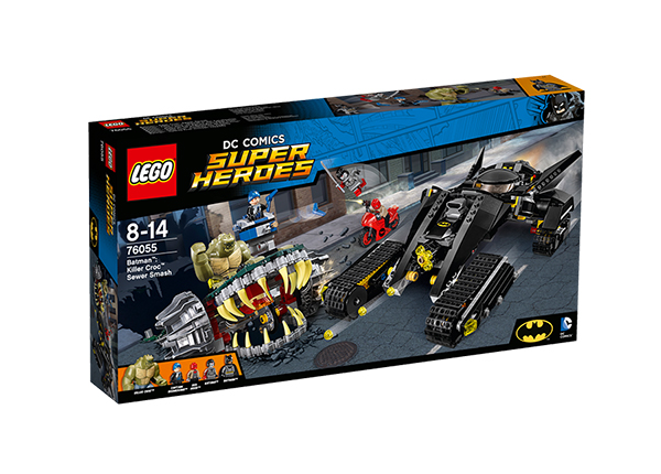 Tapjakrokodill™ – rentslipurustus Lego Super Heroes Batman™