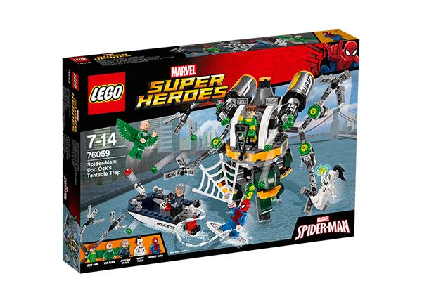 Doc Ocki kombitsalõks Lego Super Heroes Spider-Man