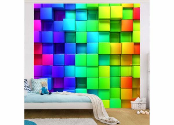 Fliis fototapeet 3D Cubes