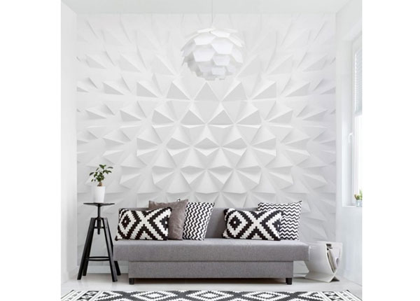 Флизелиновые фотообои Geometric Pattern 3D Effect