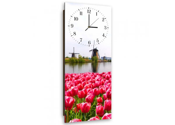 Pildiga seinakell Tulips