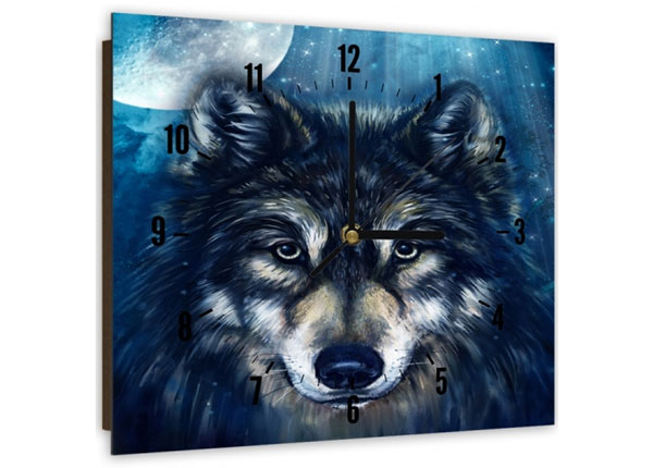 Pildiga seinakell Wolf