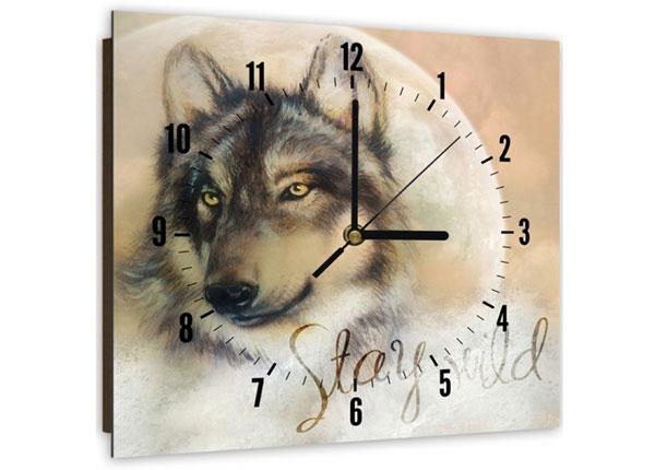 Pildiga seinakell Wolf 2