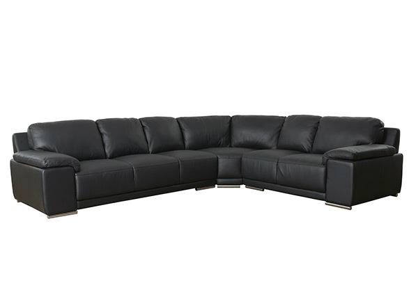 Кожаный угловой диван Sophia AY-144200