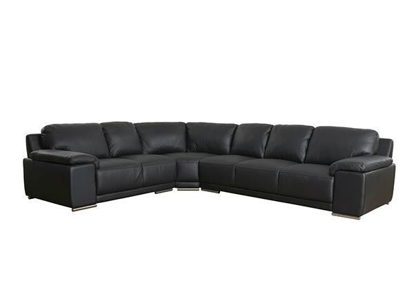 Кожаный угловой диван Sophia AY-144201