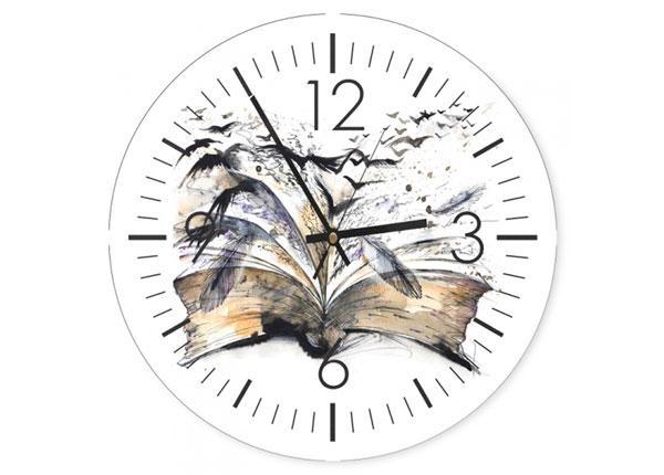 Настенные часы с изображением Book ED-144229
