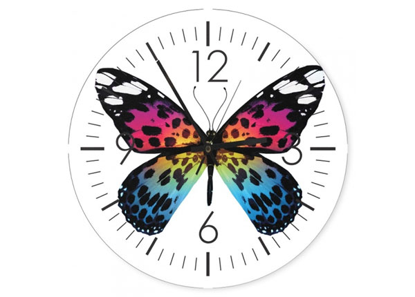 Настенные часы с картиной Butterfly ED-144346