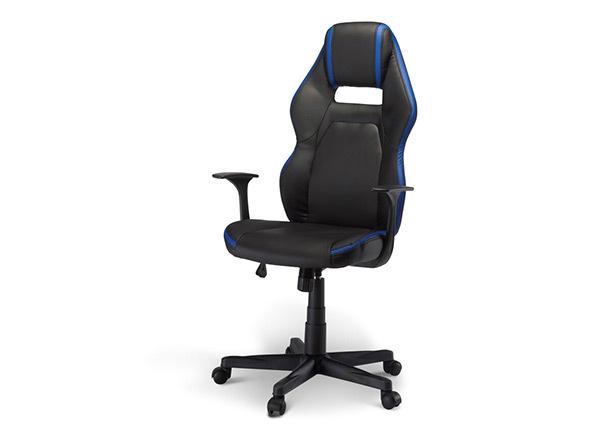 Рабочий стул Space, чёрный-синий AY-144486