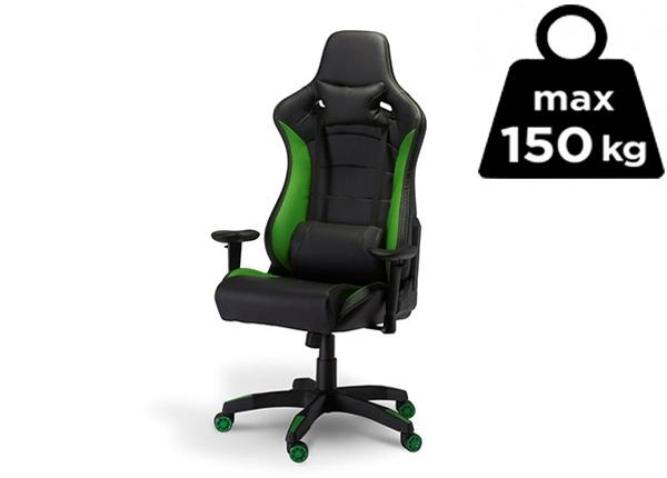 Töötool Gaming de Luxe, must/roheline