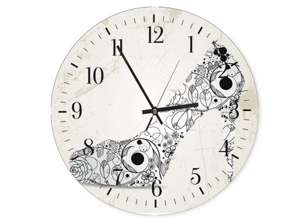 Настенные часы с картиной Shoes ED-144602