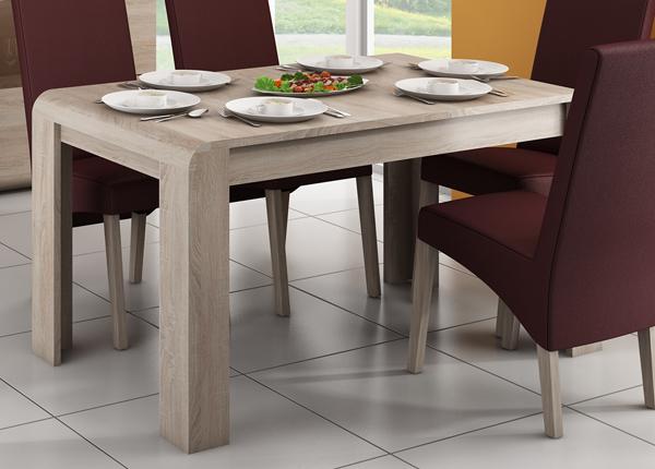 Jatkettava ruokapöytä 144,5-184,4x80 cm CM-145145