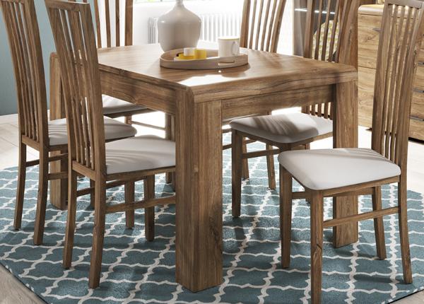 Удлиняющийся обеденный стол 144,5-184,4x80 cm CM-145146