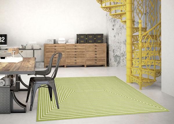 Matto Braid Green 200x285 cm