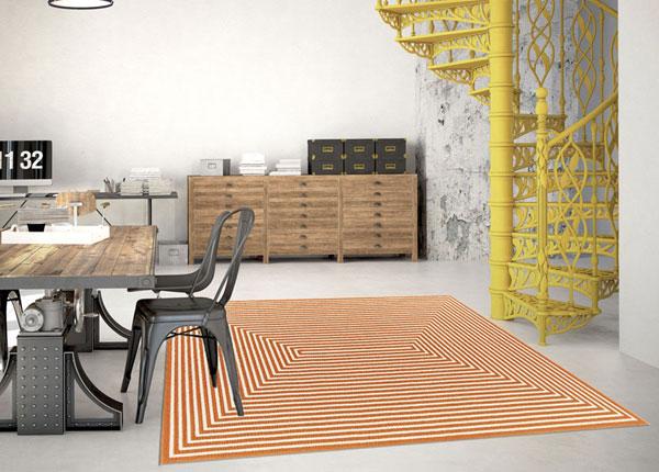Matto Braid Orange 200x285 cm