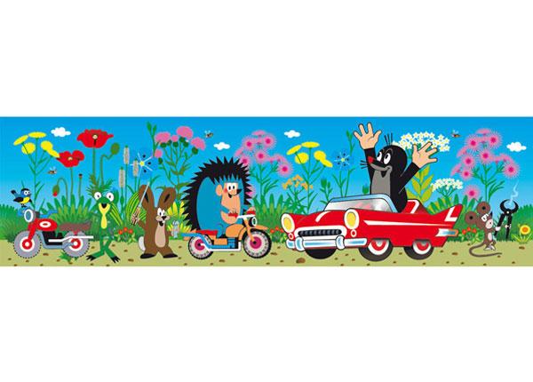 Seinakleebis Little Mole in car 10x500 cm