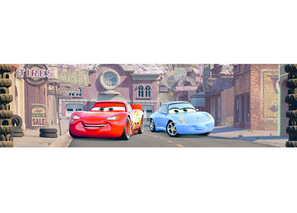 Seinätarra Cars 3 10x500 cm
