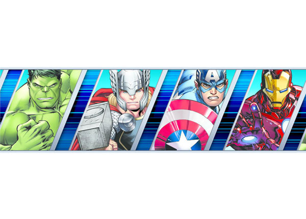 Seinakleebis Avengers 10x500 cm