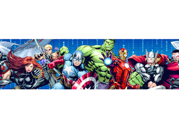 Seinakleebis Avengers 2 14x500 cm