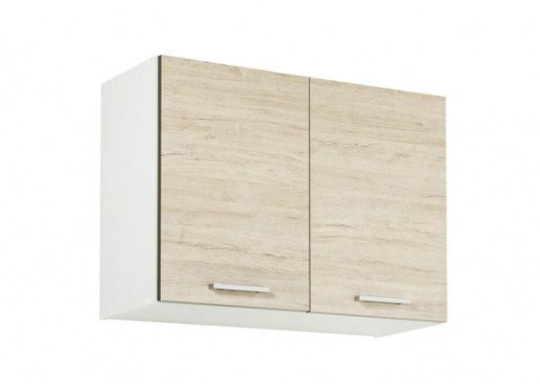 Верхний кухонный шкаф 80 cm с решёткой для посуды