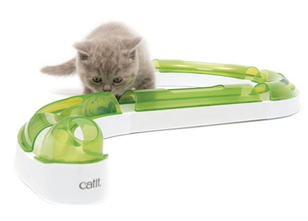 Kehittävä lelu kissoille Pallorata SG-146199