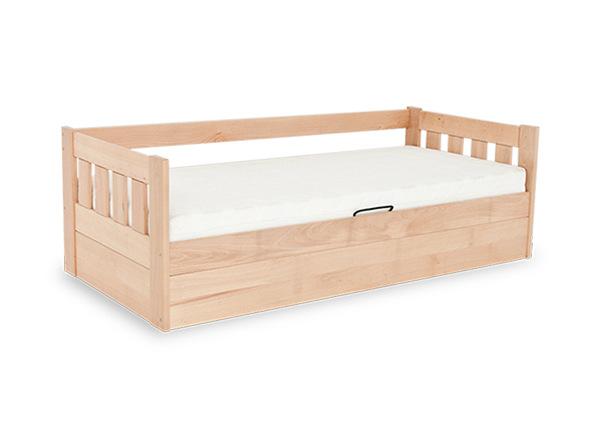 Sänky vuodevaatalaatikolla 90x200 cm