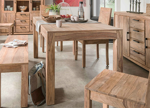 Ruokapöytä Sanam 178x90 cm