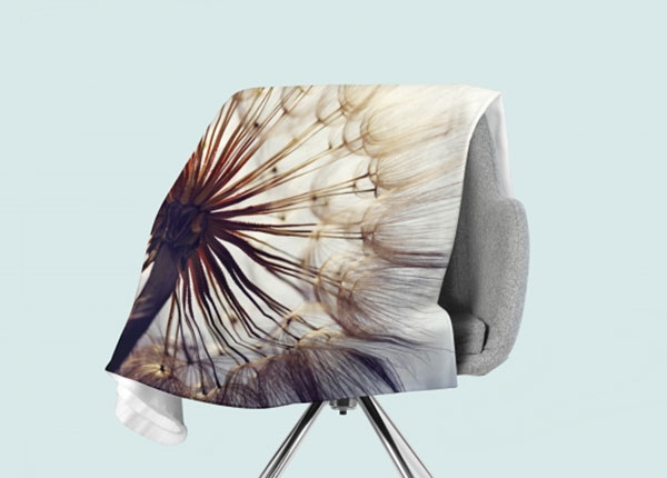 Флисовый плед Amazing Dandelion 130x150 см ED-146508
