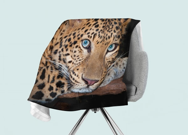Флисовый плед Cheetah Eyes 130x150 см ED-146529