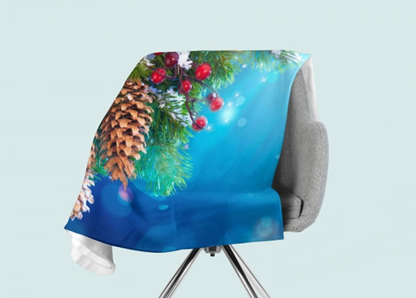 Флисовый плед Cones 130x150 см ED-146537