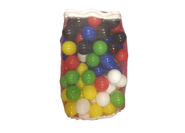 Шарики для игрового манежа 80 шт разноцветные