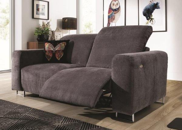 Recliner 2-istuttava sohva jalkatukimekanismilla Lotta CM-146588