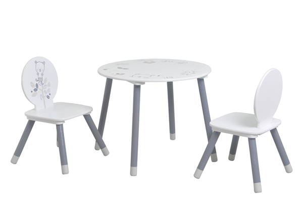 Lasten pöytä + 2 tuolia Bear