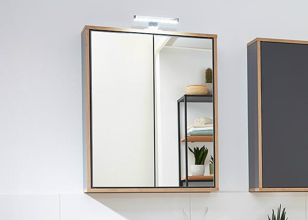 Зеркальный шкаф со светильником Finn SM-146668