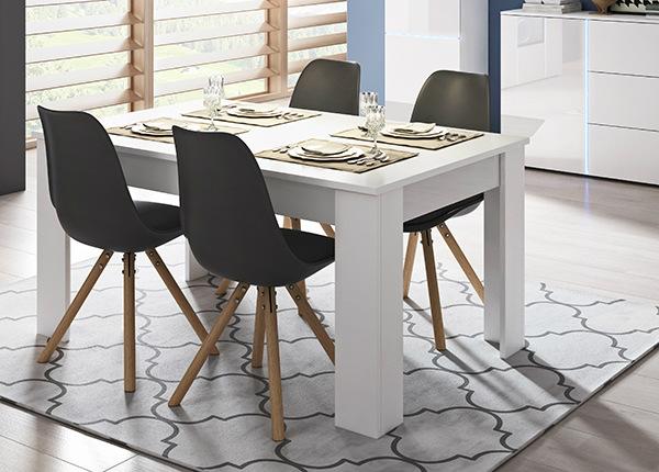 Jatkettava ruokapöytä 80x140-180 cm