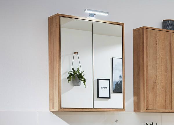 Зеркальный шкаф со светильником Finn SM-146876