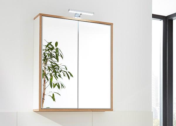 Зеркальный шкаф со светильником Finn SM-146883
