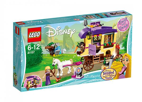 Rapunzelin liikkuva perävaunu LEGO Disney
