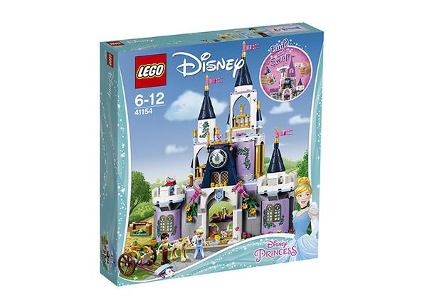 Tuhkimon linna LEGO Disney