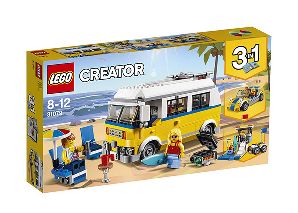 Surffari van LEGO Creator