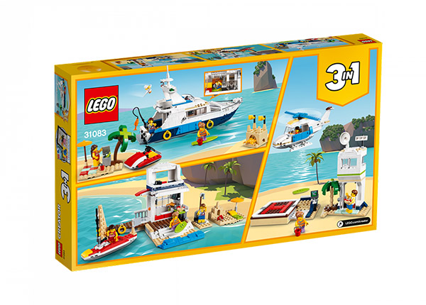 Ristely seikkailut LEGO Creator