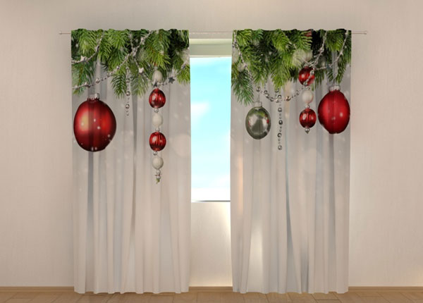 Poolpimendav kardin Christmas Decorations 240x220 cm