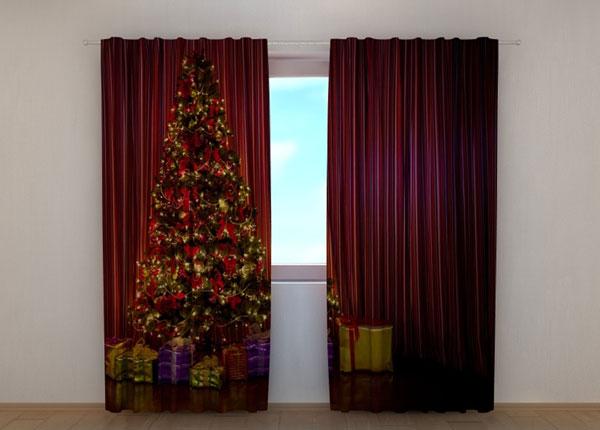 Полузатемняющая штора Christmas Tree 1 240x220 см ED-146951