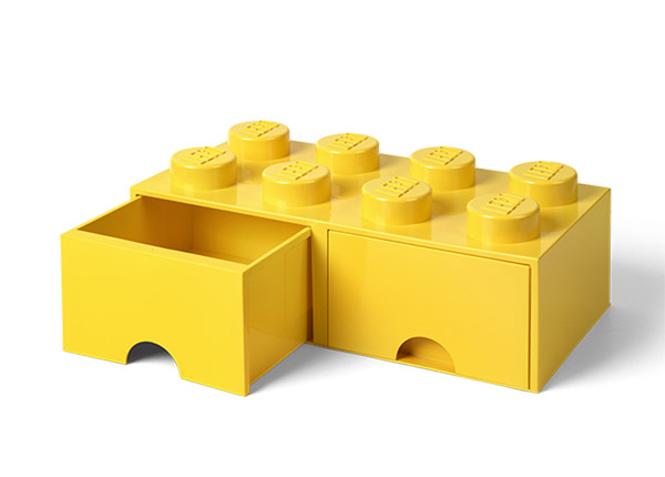 Hoiukast sahtlitega LEGO 8