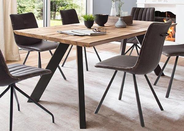 Обеденный стол из массива дуба Milton 220x100 cm