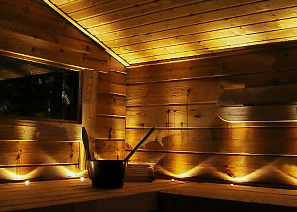 LED saunavalaisimen lisälamput